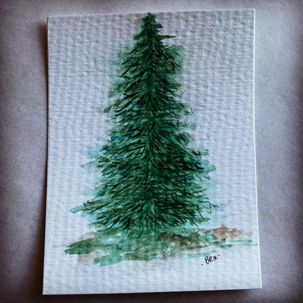 I love pine trees