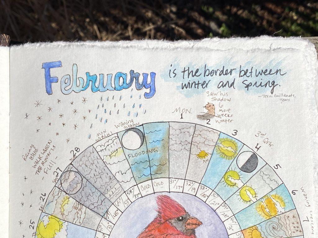 February P wheel