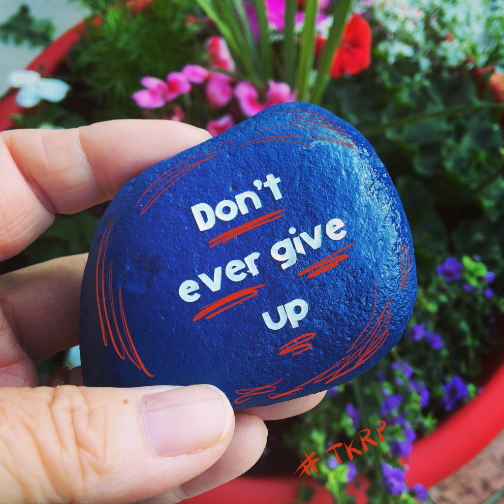 Don't ever give up - the power of kindness