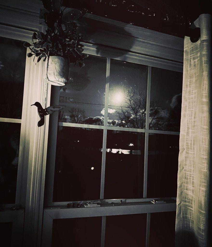 My friend, the moon
