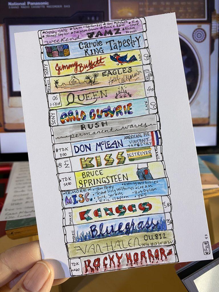 Cassette tape memories