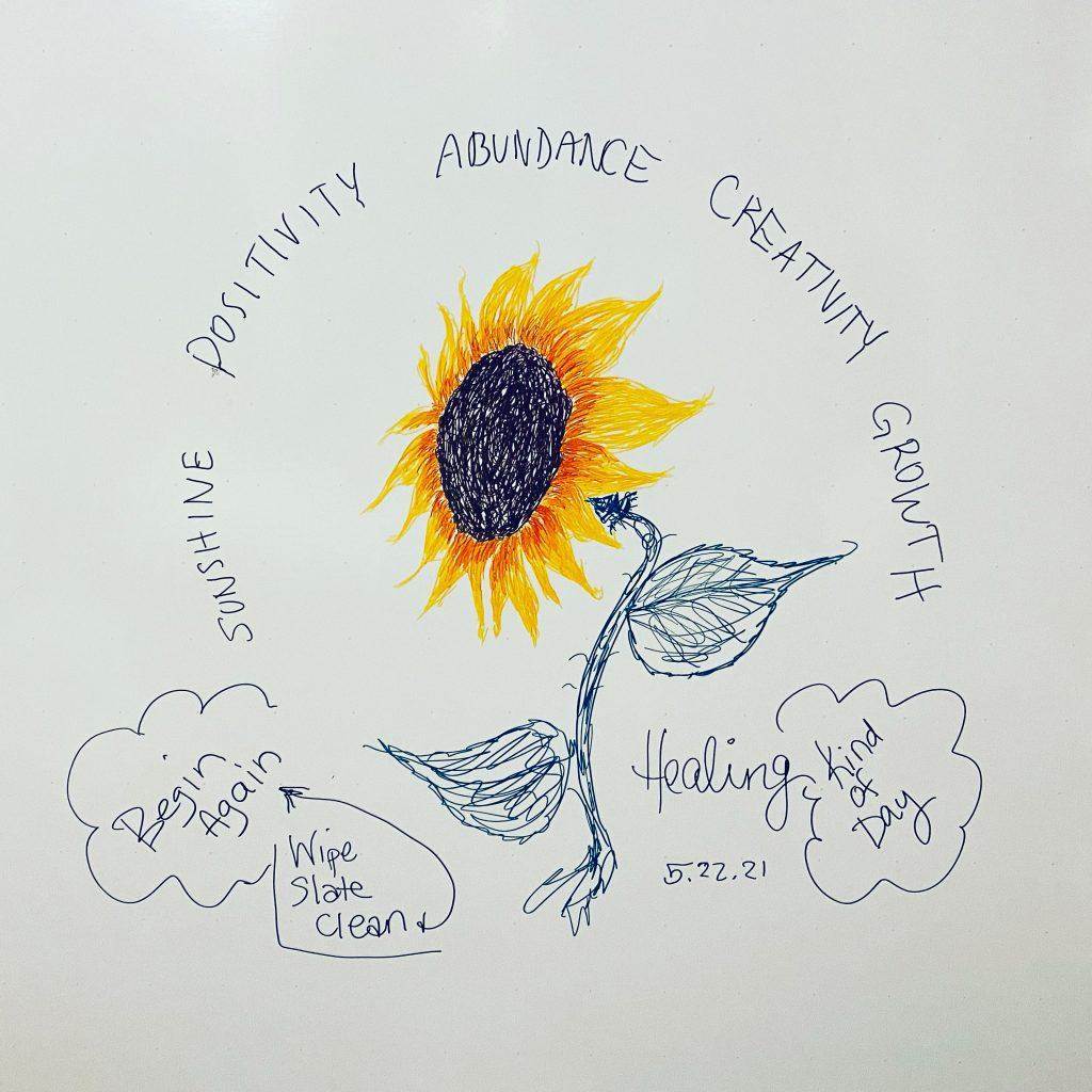 Dry erase board doodles