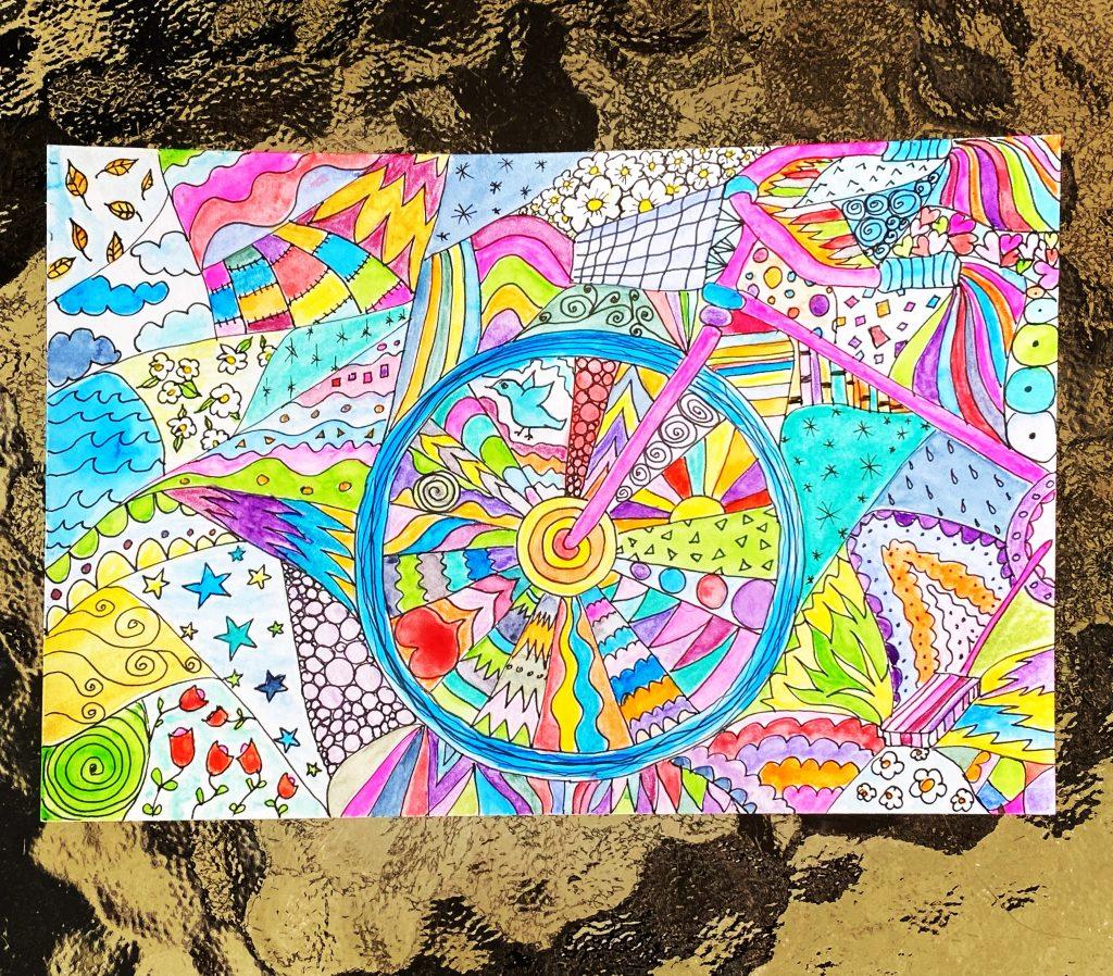 Color wheel, sort of