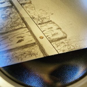 Magnifying glass for detail