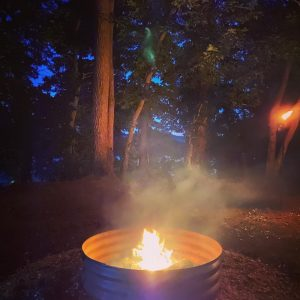 Campfire by the Ohio River