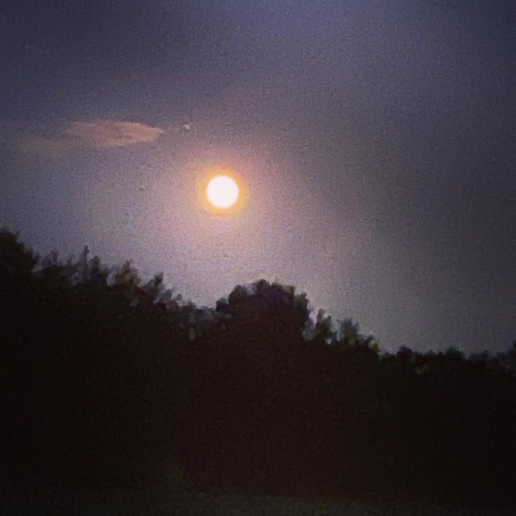 Full Buck Moon aka Pumpkin Moon
