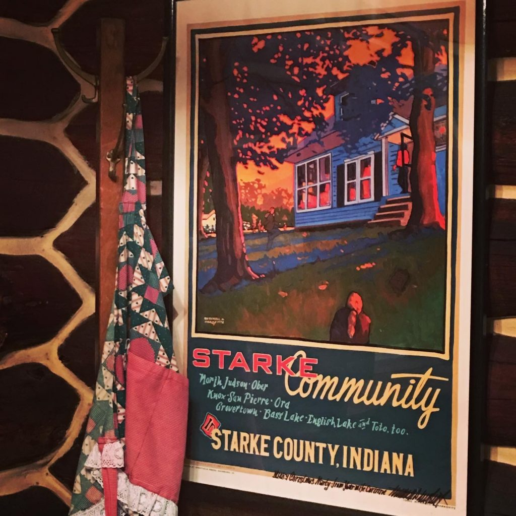 Tourism poster Starke County, Indiana