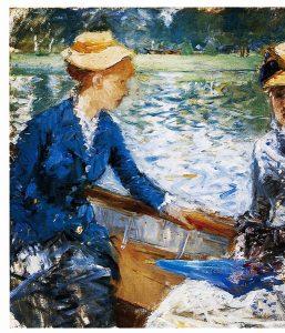 Berthe Morisot's Summer's Day, 1879